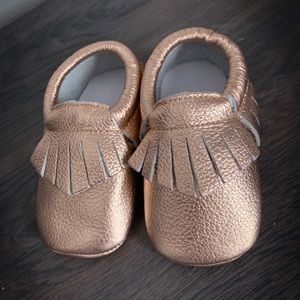Other - Brand New Toddler leather moccasins